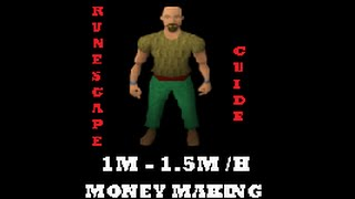 Runescape RS3 Money Making Guide 1m - 1.5m  per hour f2p / p2p - I Play RS3 commentary / walkthrough