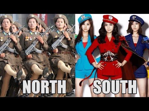 Những Sự Khác Biệt Phũ Phàng Giữa Triều Tiên Và Hàn Quốc