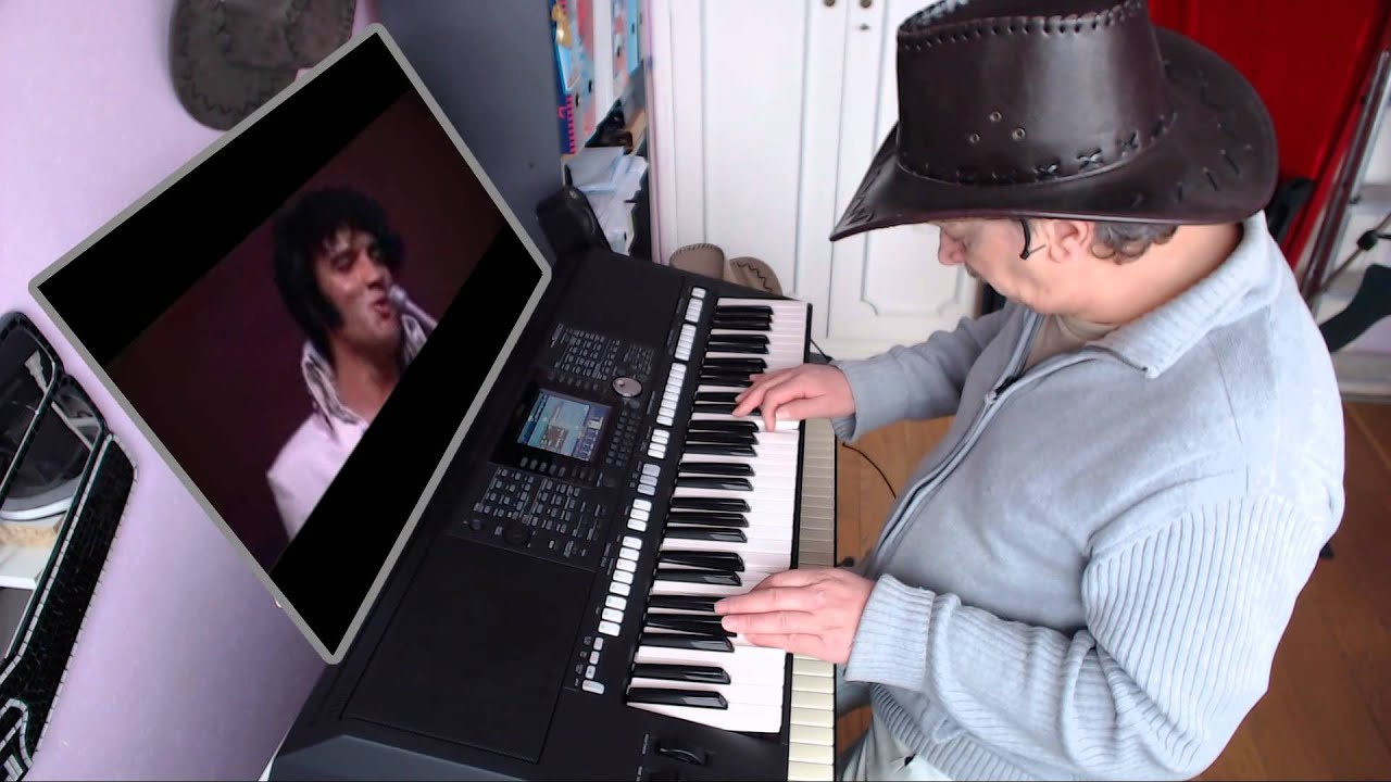 elvis presley it s now or never yamaha psr s950 youtube