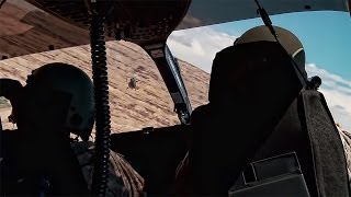 Lakota Helicopters Fly Through Canyons