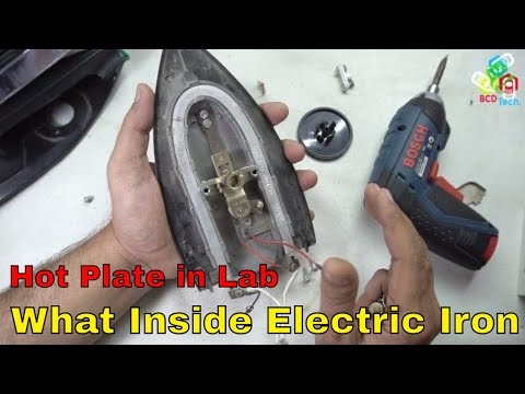 What Inside a Electric Press/Iron: Our Electronic Hot plate