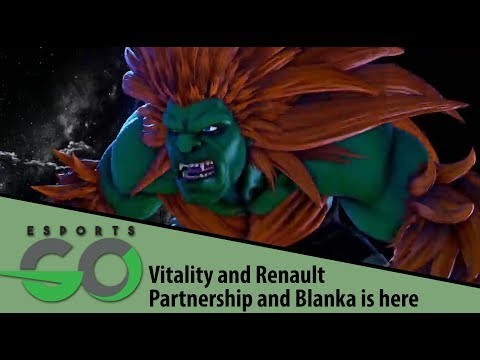 Team Vitality / Renault Sports Partnership and Street Fighter V: AE Update - Esports Go - 2-12-18