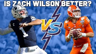 Why Zach Wilson is a Better QB prospect than Trevor Lawrence