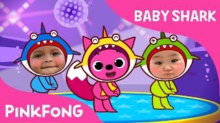 Download Baby Shark Dance With Kids Wearing Shark Costumes! | Animal Songs | PINKFONG Songs for Children