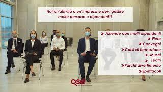 Misure Anti Covid-19 per prevenire i contagi in azienda, organizzazioni, eventi, fiere, convegni...