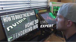 Video GeForce Garage – How To Build the Ultimate Home 3D Rendering Rig download MP3, 3GP, MP4, WEBM, AVI, FLV Oktober 2018