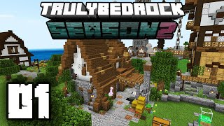 Truly Bedrock 2 ⯈ 9 SPAWNERS SPINNING ⯈EP001