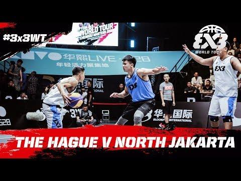 The Hague v North Jakarta | Full Game | FIBA 3x3 World Tour 2018 - Chengdu Masters