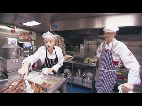 The Royal Navy: Cooking on HMS Mersey - YouTube