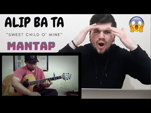 "Alip Ba Ta – ""Sweet Child O' Mine"" – Guns N' Roses (fingerstyle cover) 
