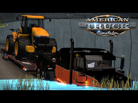 American Truck Simulator: The Flood - New Orleans to Albuquerque with 30 tons