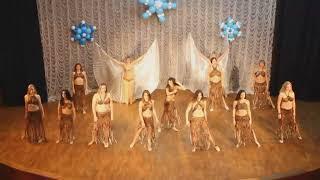 Африка BellyDance тренер Валерия Ботвина Новогодний концерт СТ Rakassa 24.12.17 КДЦ Днепропресс