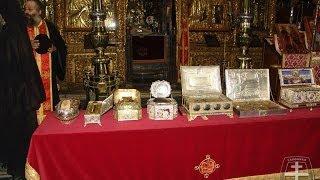 Святыни монастыря Ватопед (Βατοπέδι или Βατοπαίδoι) Святая Гора Афон(, 2014-02-02T13:43:42.000Z)