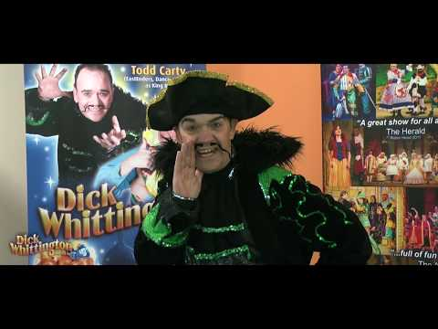 Todd Carty as King Rat in Dick Whittington Eastbourne
