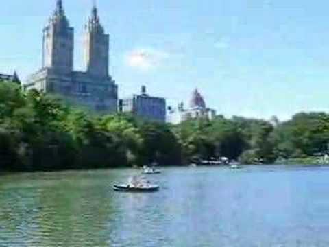 Central Park Lake New York City