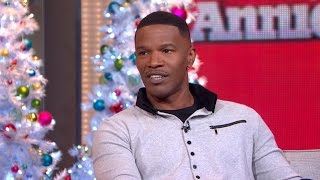 Jamie Foxx On Who Made Him Want To Be In 'Annie'