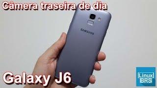 Samsung Galaxy J6 - Camera Traseira Dia 1080p