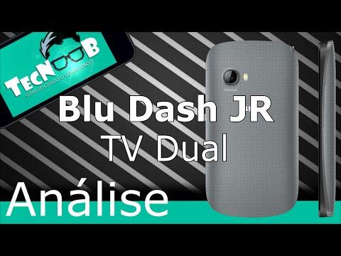 Análise: Blu Dash JR TV Dual - TecNoob