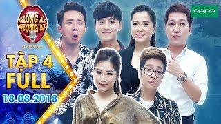 Giọng Ải Giọng Ai Mùa 3 (Tập 4 Bản Full HD) - Trấn Thành, Trường Giang