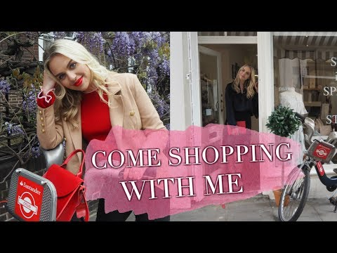 Come Shopping and Cycling Around London With Me - Ad | June 2017