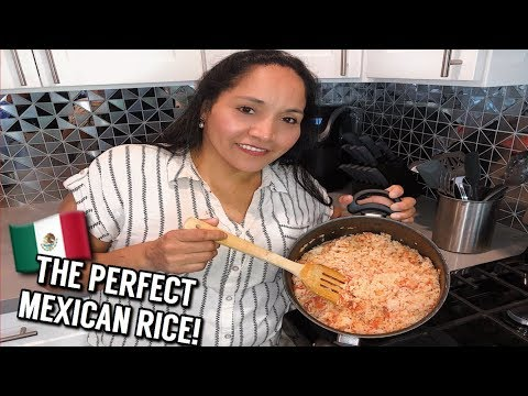 How To: THE PERFECT MEXICAN RICE!