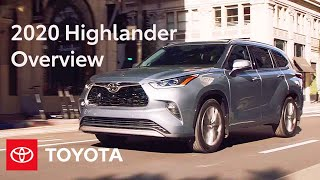 homepage tile video photo for 2020 Toyota Highlander Overview | Specs & Features | Toyota