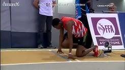 Aubière 17 février 2013 Championnats de France Elites en salle 400M hommes finale