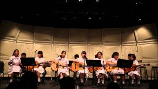 Merrily Love Song by TWGHs Yau Tze Tin Memorial College @ Rising Force of Guitarists 2014