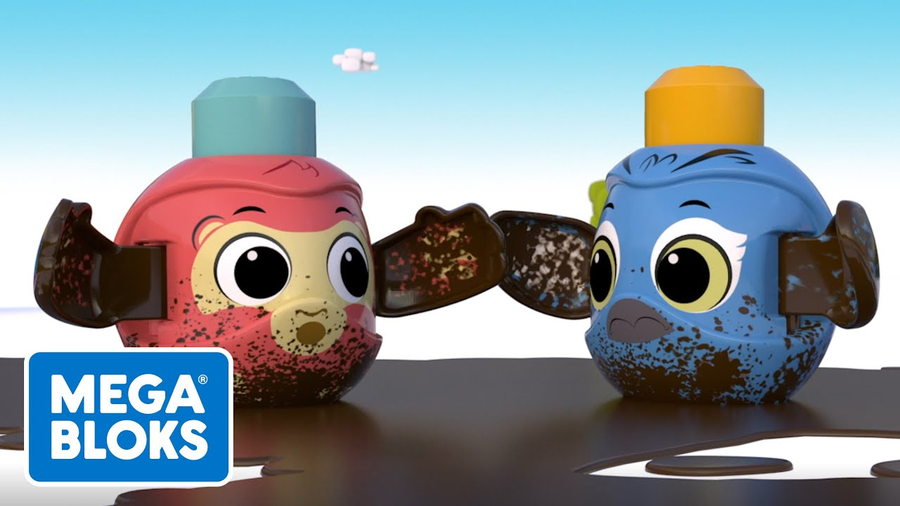 MEGA BLOKS™ | Super lavado de autos de gran tamaño | NUEVO! | Dibujos animados | Videos de bebe