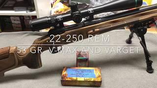 Gambar cover .22-250 Rem Loads - 53 Gr. V-Max and Varget