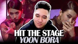 Video Yoon Bora - Hit The Stage REACTION!!! download MP3, 3GP, MP4, WEBM, AVI, FLV Juni 2018