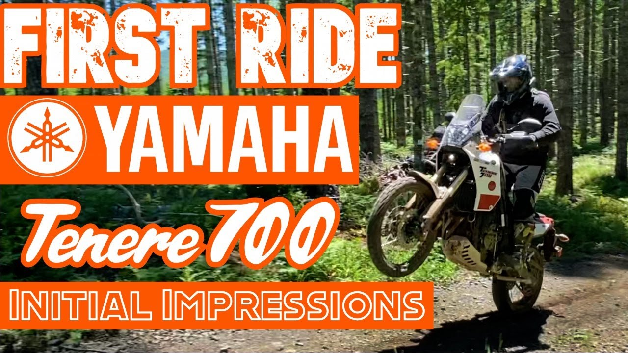 Yamaha Tenere 700- First Ride / Impressions