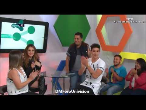 #VIDEO @DulceMaria en el programa 3.0 [Parte 1]