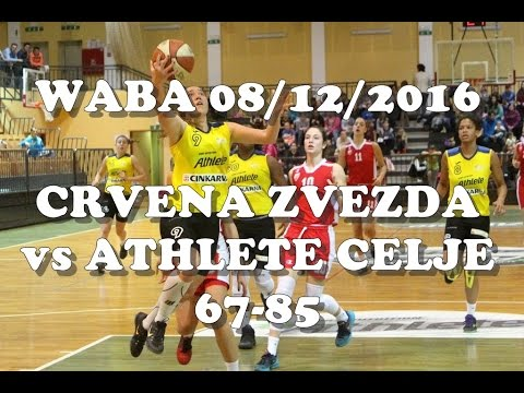 Crvena Zvezda : Athlete Celje - WABA Adriatica Women Basketball League