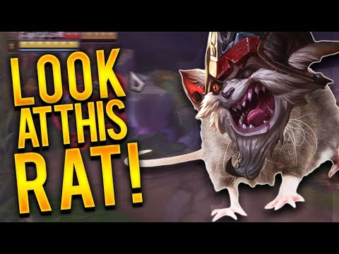DYR TOP VS KLED | GAVE THIS RAT SOME LVL 1 CHEESE!!! - Trick2G