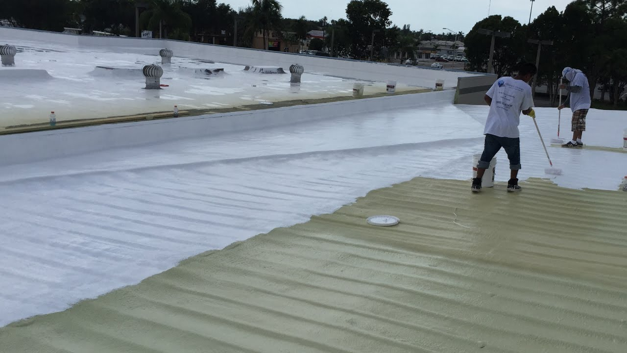 Silicone Roof Coating Amp Spray Polyurethane Foam In Naples