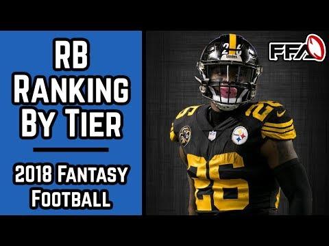 2018 Fantasy Football Running Back Rankings By Tier