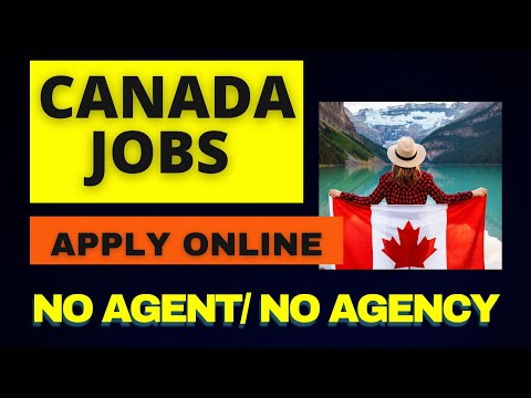 How To Get Jobs In Canada Online 2020 || Driver Jobs In Canada