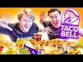 Eating ENTIRE Taco Bell Menu w/ Jiedel!