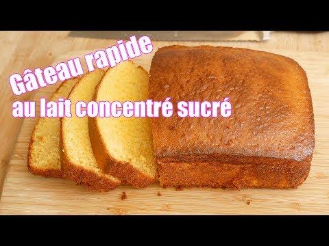 gâteau-au-lait-concentré-sucré-🥛rapide