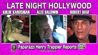 Khloe Kardashian, Alec Baldwin, & Robert Davi H3016