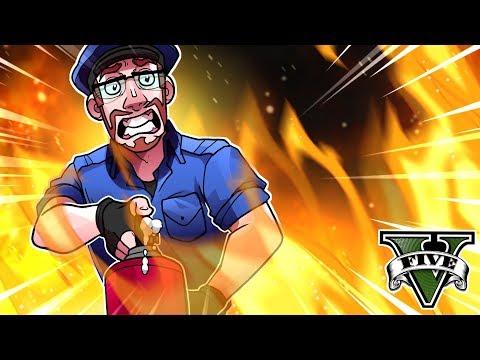GTA 5 Police - Stop The Fire! (GTA 5 Lspdfr Cop Mod)