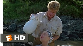 Out of Africa (5/10) Movie CLIP - Shampoo By the River (1985) HD