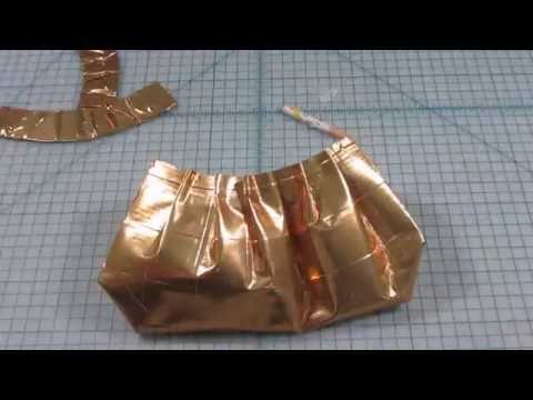 DUCT TAPE BAGS: Opera Clutch Bag