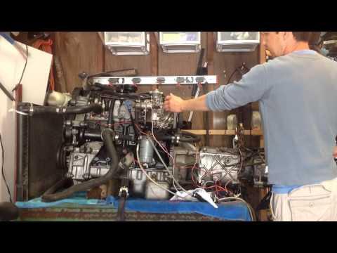 Volvo D24 turbo disel engine