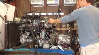 Volvo D24 turbo disel engine