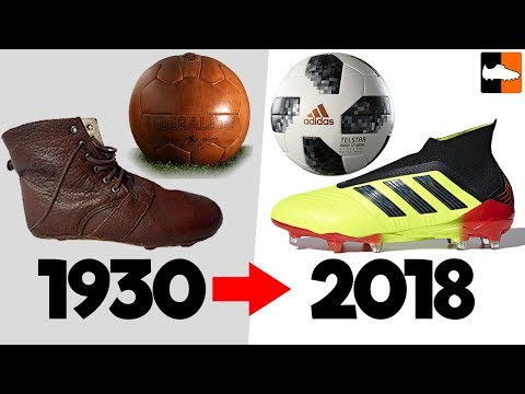 World Cup Evolution!! Soccer Cleats & Ball History