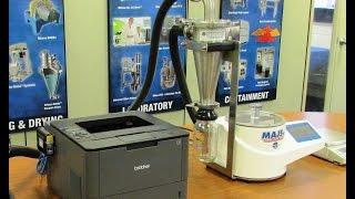 Printer setup with the Mikro Air Jet Sie