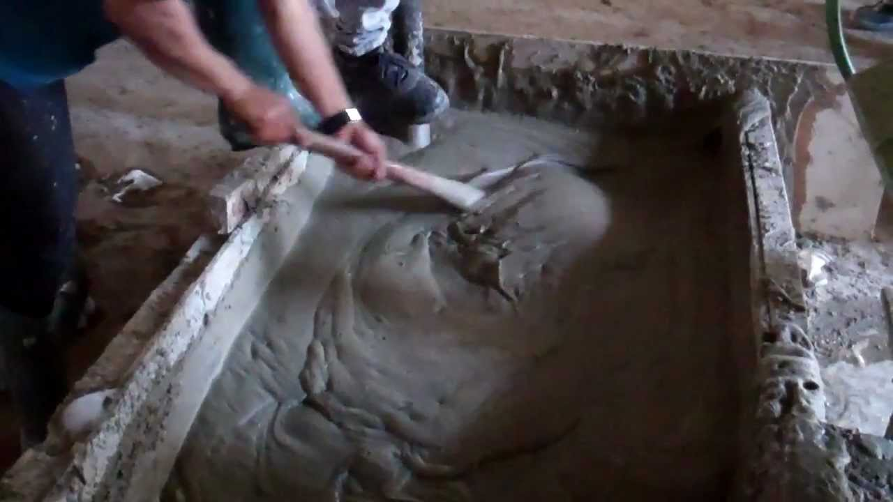 Foam concrete wall direct casting youtube for Styrofoam concrete walls