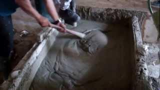 Foam Concrete Wall Direct Casting